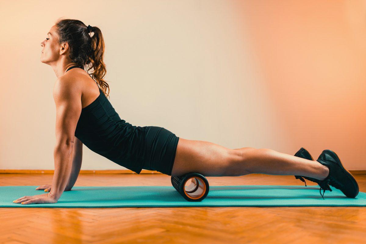 Foam Roller Quadriceps Massage
